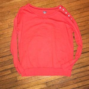 Aerie Orange Sweater! Small!